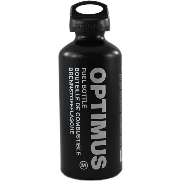 Optimus Bouteille de combustible M 0,6 L avec sécurité enfant, black