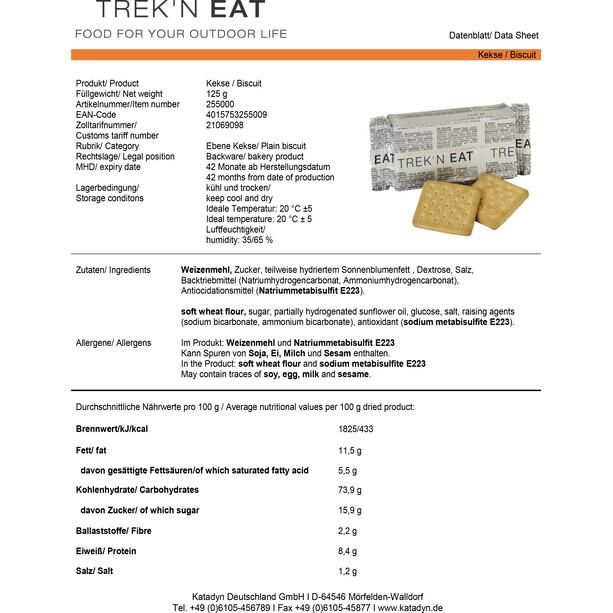 Trek'n Eat Tactical Day Ration Pack Måltid 1100g, Typ 1