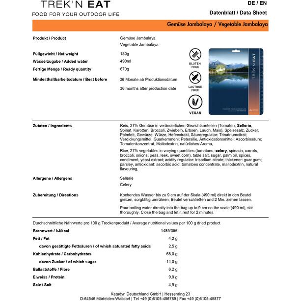 Trek'n Eat Tactical Day Ration Pack Outdoor Mahlzeit 1100g Typ 4