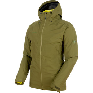 Mammut Convey 3in1 HS Hooded Jacket Herr clover-canary clover-canary