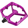 Crankbrothers Stamp 7 Large Pedals purple