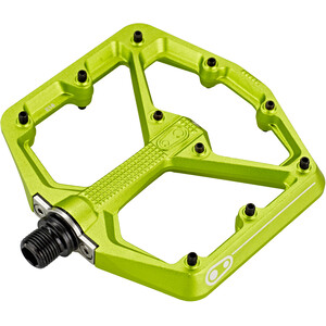 Crankbrothers Stamp 7 Large Pedale green green