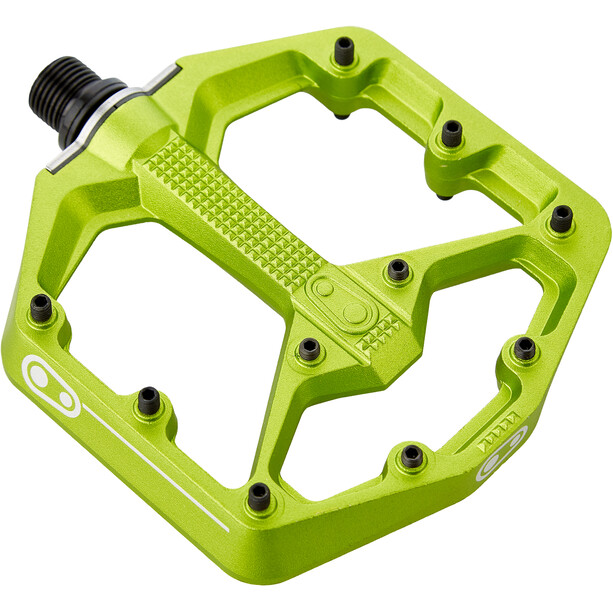 Crankbrothers Stamp 7 Small Pedals green