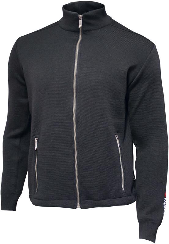Ivanhoe of Sweden Assar Full Zip Jacket Men black L 2018 Freizeitjacken, Gr. L