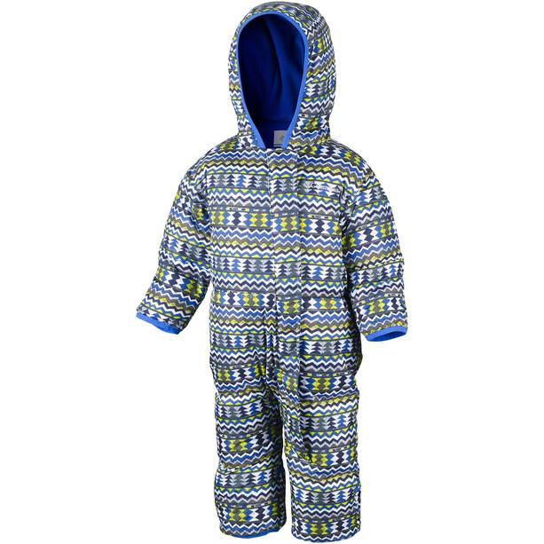 Columbia Snuggly Bunny Bunting Einteiler Kinder blau/grau