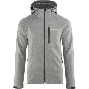 Columbia Cascade Ridge II Softshell Jacke Herren charcoal heather charcoal heather