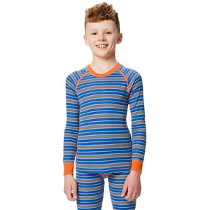 Regatta Elatus Baselayer Shirt Kinder oxford blue stripe oxford blue stripe
