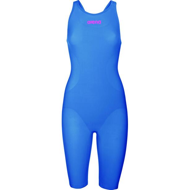 arena Powerskin R-Evo One Badeanzug Damen blue/powder pink