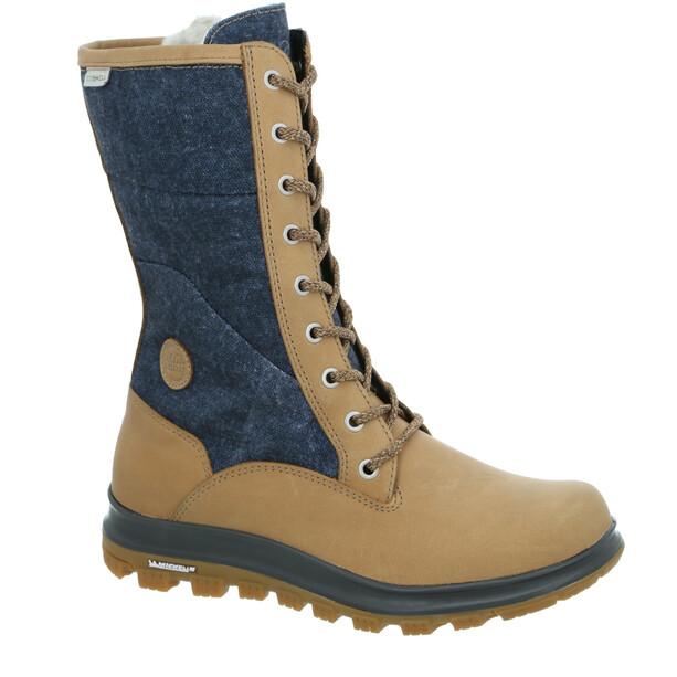 Hanwag Saisa High ES Schuhe Damen beige/grau