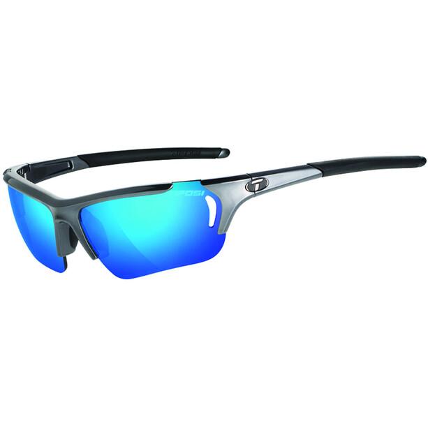Tifosi Radius FC Brille gunmetal - clarion blue/ac red/clear