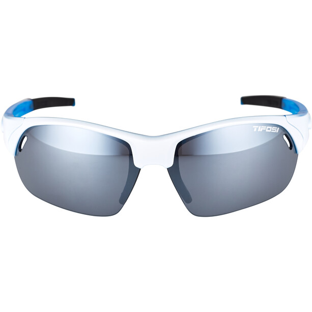 Tifosi Launch HS Brille skycloud - smoke/ac red/clear