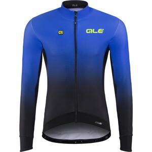 Alé Cycling PRS Dots DWR Langarm Trikot Herren black-blue light black-blue light
