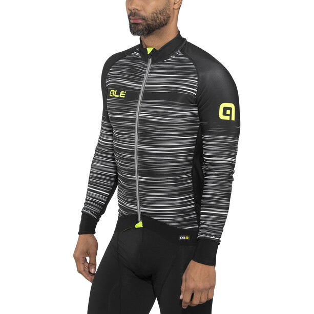 Alé Cycling Graphics PRR The End LS Jersey Herr black-white