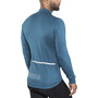 Alé Cycling Solid Color Block Longsleeve Jersey Herr lagoon