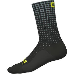 Alé Cycling Dots Socken nero-grigio/black-grey nero-grigio/black-grey