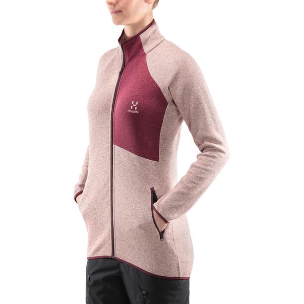 Haglöfs Nimble Jacket Dam cloudy pink