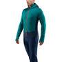 Haglöfs L.I.M Touring Hood Jacket Herr alpine green/tarn blue