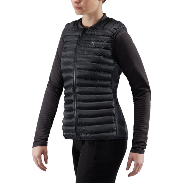 Haglöfs Essens Mimic Vest Dam true black/magnetite