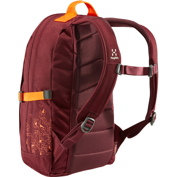 Haglöfs Tight Junior 15 Backpack Barn aubergine/cayenne