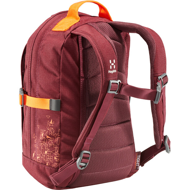 Haglöfs Tight Junior 8 Backpack Barn aubergine/cayenne