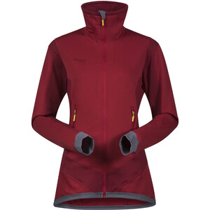 Bergans Roni Jacket Dam red/burgundy red/burgundy