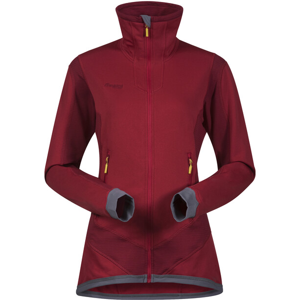 Bergans Roni Jacket Dam red/burgundy