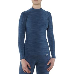 NRS HydroSkin 0.5 Langarmshirt Damen moroccan blue moroccan blue