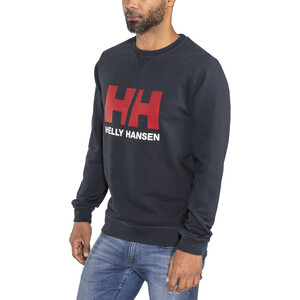 Helly Hansen HH Logo Rundhals Sweater Herren navy navy