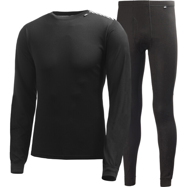 Helly Hansen Comfort Light Baselayer Set Herren black