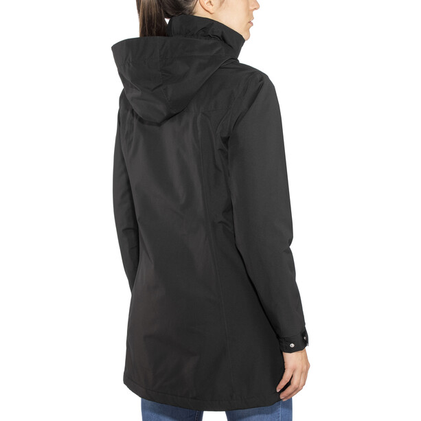 Helly Hansen Aden Isolierter Mantel Damen black