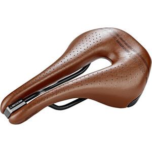 Selle Italia Novus Boost Gravel Heritage Saddle Super Flow ブラウン
