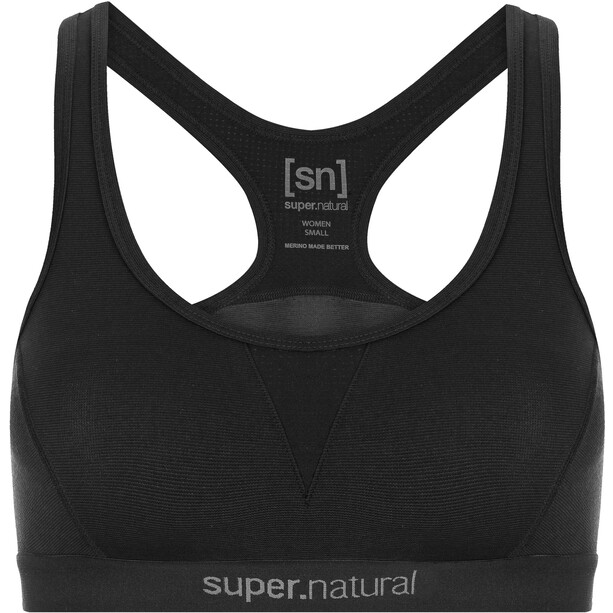 super.natural Semplice 220 Bra Dam jet black