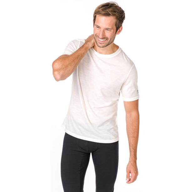 super.natural Base 140 T-Shirt Herren fresh white