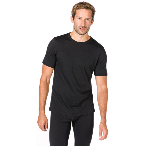 super.natural Base 140 T-Shirt Herren jet black