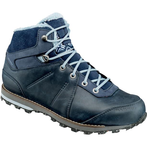 Mammut Chamuera Mid WP Shoes Dam marine-fog