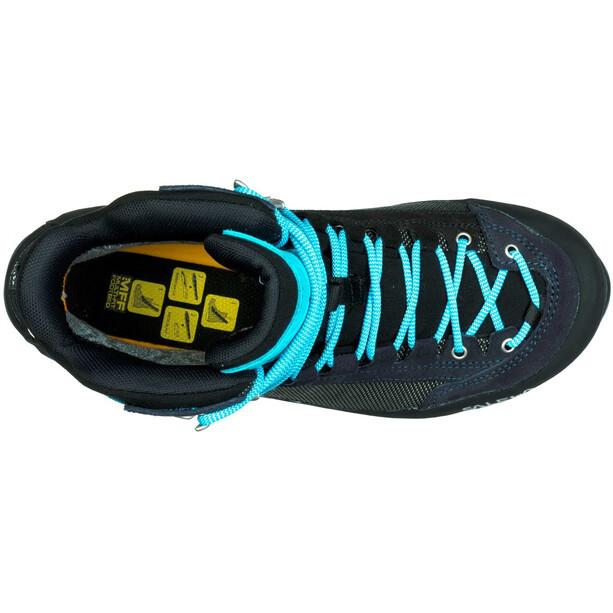 SALEWA Crow GTX Shoes Dam premium navy/ethernal blue