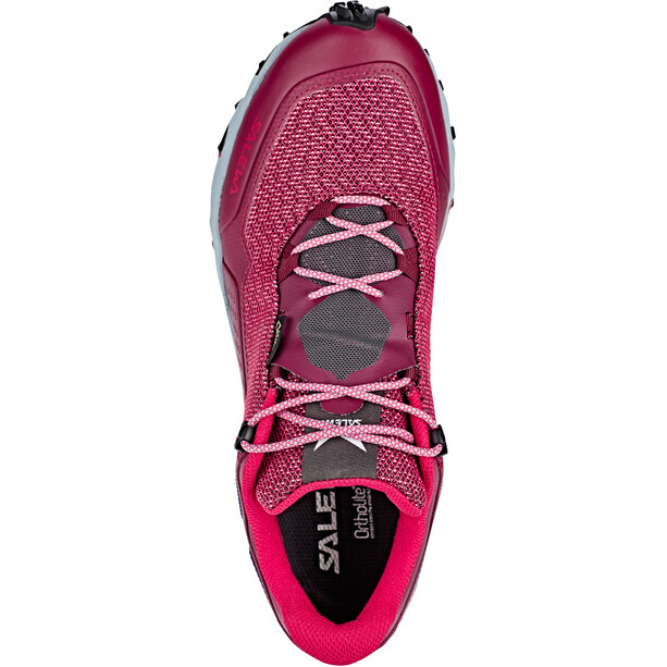 SALEWA Speed Beat GTX Shoes Dam red plum/rose red