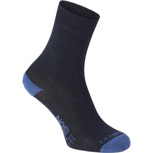 Craghoppers NosiLife Socks Twin Pack Dam blå blå