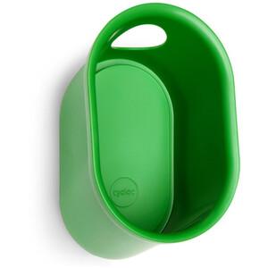 Cycloc Loop Montaje de pared para casco y accesorios, verde verde