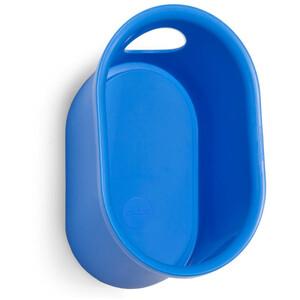 Cycloc Loop Montaje de pared para casco y accesorios, azul azul