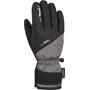 Reusch Brita GTX Handschuhe Kinder black/black melange/pink glo
