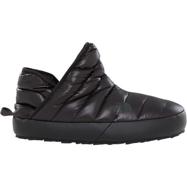 The North Face ThermoBall Traction Booties Dam shiny tnf black/beluga grey