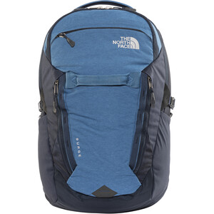 The North Face Surge Backpack dish blue light heather/urban navy dish blue light heather/urban navy