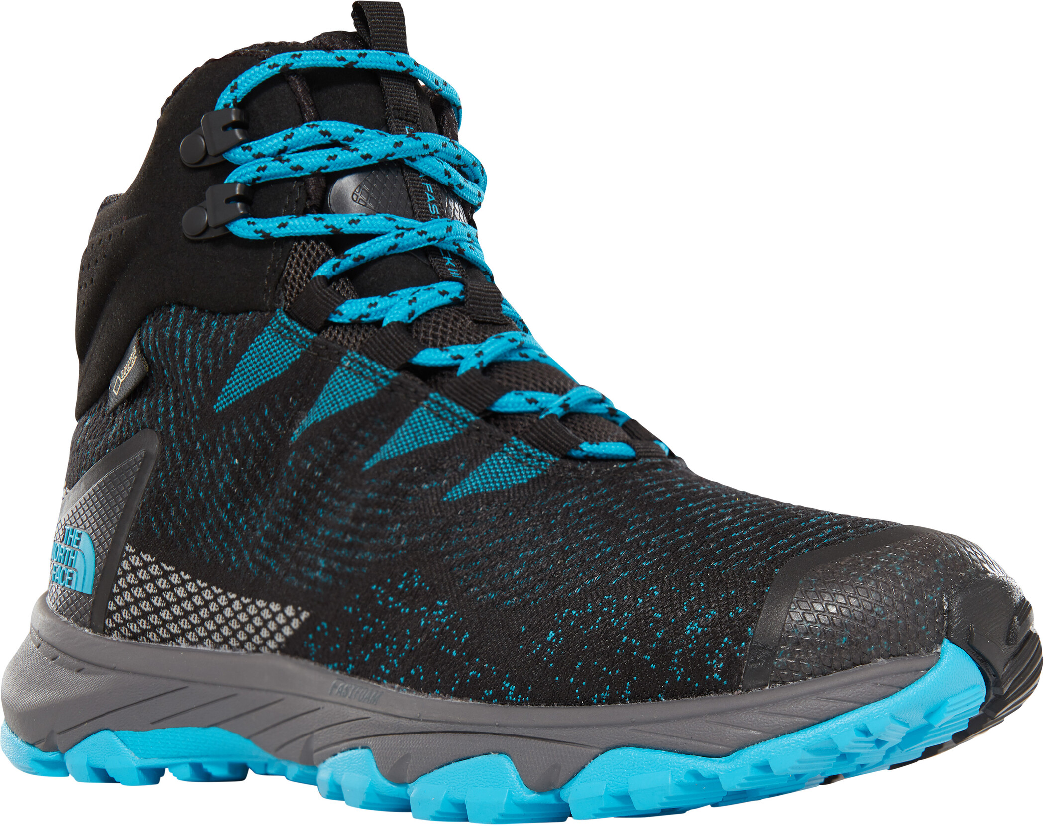 The North Face Ultra Fastpack III Mid GTX Woven Shoes Dam tnf blackmeridian blue