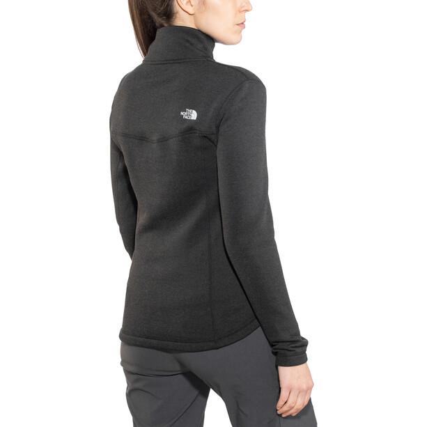 The North Face Inlux Wool Full Zip Jacket Dam svart