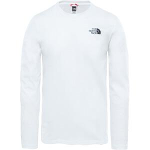 The North Face Easy Langarm T-Shirt Herren weiß weiß
