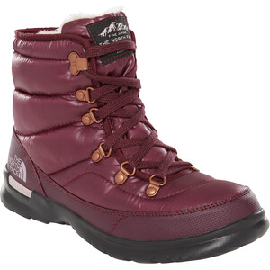 The North Face Thermoball Lace II Schuhe Damen shiny fig/vintage white shiny fig/vintage white