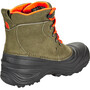 The North Face Chilkat Lace II Stiefel Kinder tarmac green/scarlet ibis