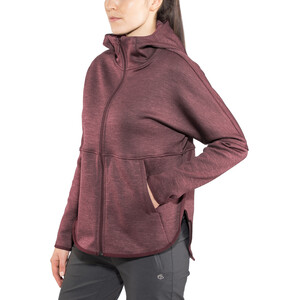 The North Face Cozy Slacker Full-Zip Jacke Damen fig heather fig heather