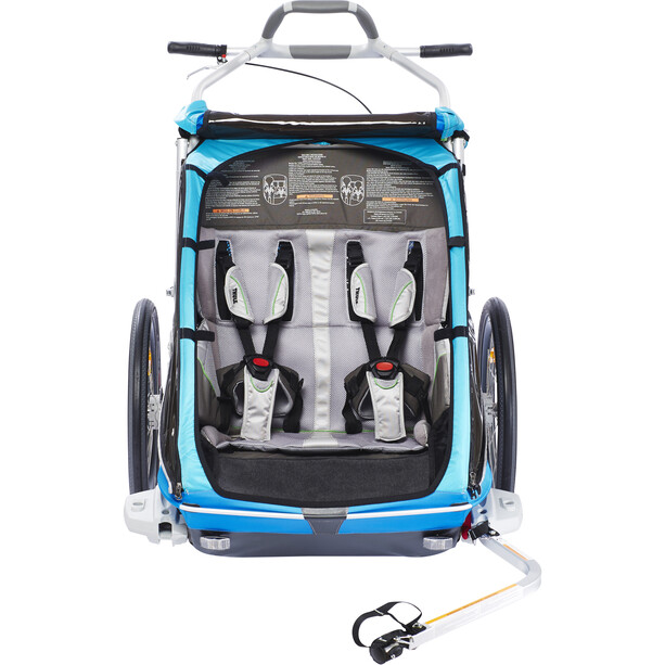 Thule Chariot CX2 Anhänger blau